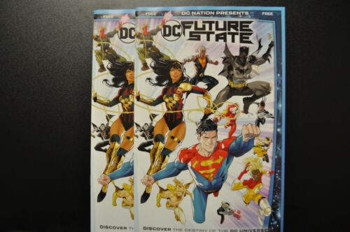 Preview of Future State 2020 DC Comics LCSD Spec DC Future State Lot of 2