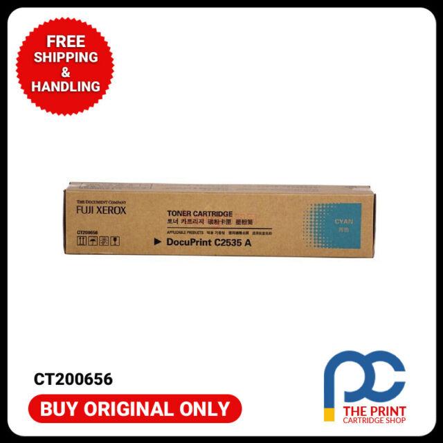 New Genuine Fuji Xerox CT200656 Cyan Toner Cartridge DocuPrint C2535A 8K Page