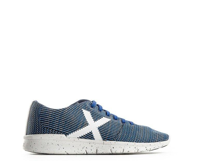 Scarpe MUNICH Uomo scarpe da ginnastica trendy  BIANCO BLU Tessuto ANOIA28 | A Prezzo Ridotto  | Uomini/Donne Scarpa