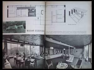 Arts Menagers N°85 1957 - Jean Prouvé, Maison Nancy Distinctive Pour Ses PropriéTéS Traditionnelles