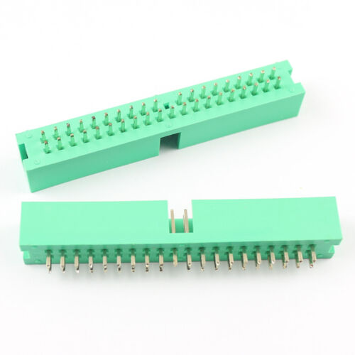 "50Pcs 3.5/"" IDE Hard Drive 39 Pin Male Shrouded Header Connector For Desktop"