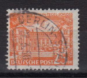 B-E-R-L-I-N-Mi-50-PF-VIII-25PF-Marke-Bauten-gestempelt-MW-50-B071-1