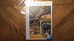 Puzzle-Ravensburger-Faune-Africaine-500-Pieces-2000-Tres-Bon-Etat
