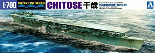 Aoshima 1/700 Water Line Series Japanese Navy aircraft plas Chitose carrier