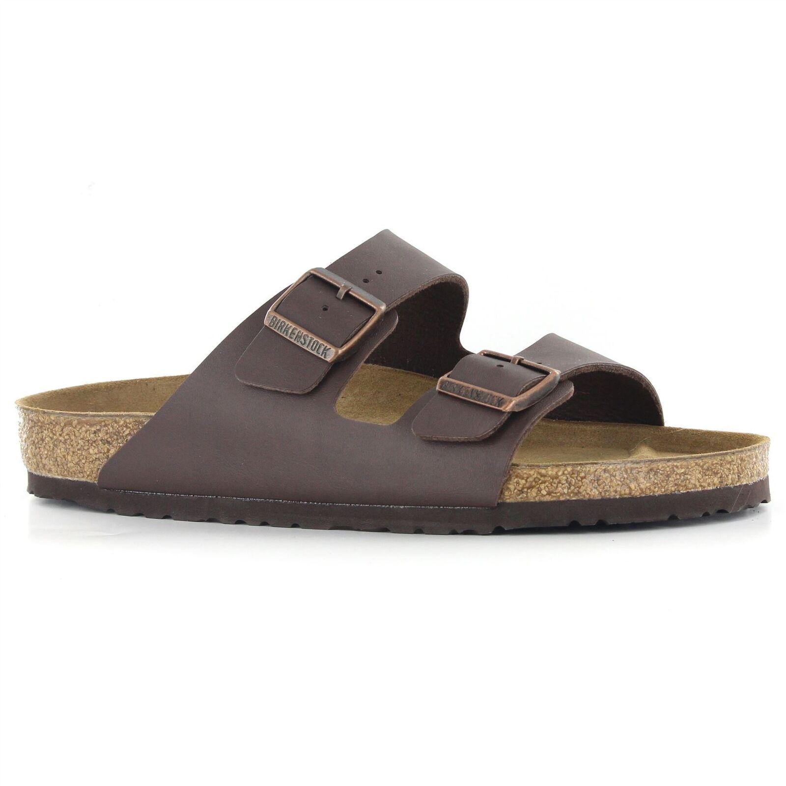 Birkenstock Arizona Dark Brown Womens - Mens Sandals - 051701