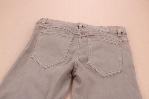 Nuevo libre la gente destruido Ripped Skinny Jeans Marrón Caqui Legging Talla 26 27 29