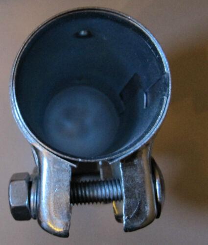 2 Stück Auspuff Doppelschellen Rohrverbinder 50 x 125mm