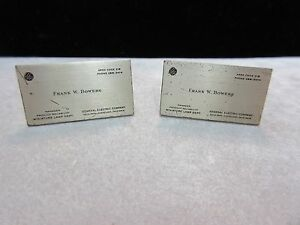 Rare ge general electric business card cufflinks 1950s ebay image is loading rare ge general electric business card cufflinks 1950 colourmoves