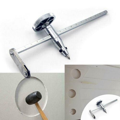 Drywall Circle Hole Cutter Gypsum Board Drill Steel With Adjustable Screw Knob A