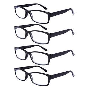 e2d664d7d98 Image is loading Reading-Glasses-Unisex-Spring-Hinge-Readers-Stylish-Men-