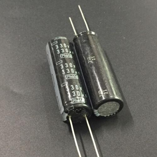 10pcs 330V 330uF 330V PHOTO 16x50 Aluminum Electrolytic Capacitor