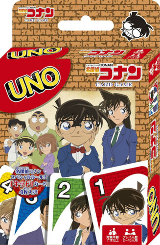 UNO Detective Conan Playing Cards Game Japanese Anime Ensky Japan Import F//S