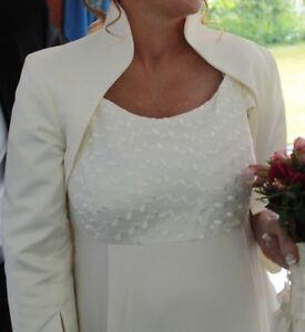 Details zu Hochzeitskleid ,Brautkleid mit Bolero ,Umstandskleid , zum ...