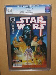 CGC-9-4-STAR-WARS-1-GAMESTOP-DARTH-VADER-VARIANT-COMIC-2013-1st-first-movie-con