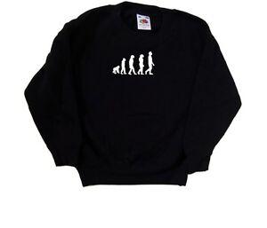 Evolution-Of-Man-Kids-Sweatshirt
