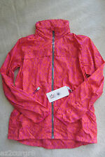 Seawheeze Lululemon Miss Misty Jacket with hood Magenta Red Pink AZPU 10
