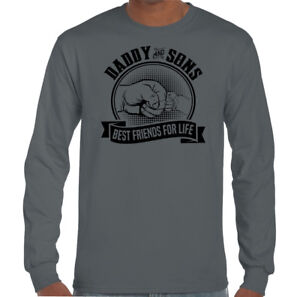 Daddy /& Sons Best Friends For Life Mens Funny Father/'s Day T-Shirt Dad Gift Card