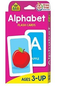 Alphabet Flash Cards For Kids Toddlers Early Learning Child Educating ABC 52pc