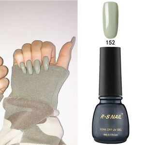 RS-Nail-PP152-Gel-Nail-Polish-UV-LED-Varnish-Harbor-Gray-Soak-Off-Professional