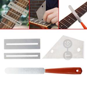 Fret-Crowning-File-Protector-Shim-Leveling-Tool-Kit-For-Banjo-Mandolin-Violin