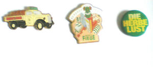 BOCHUM-MORITZ FIEGE BIER-KLASSIKER-3 PINS-LASTWAGEN,BRAUEREIFEST HERBE LUST-BO 2