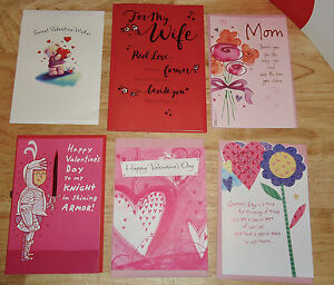 6 American Greetings Valentine Valentines Card Mom Wife Funny More W