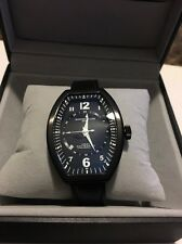 Montres De Luxe Watch Estremo gmt Ladys Steel black Dial Date new