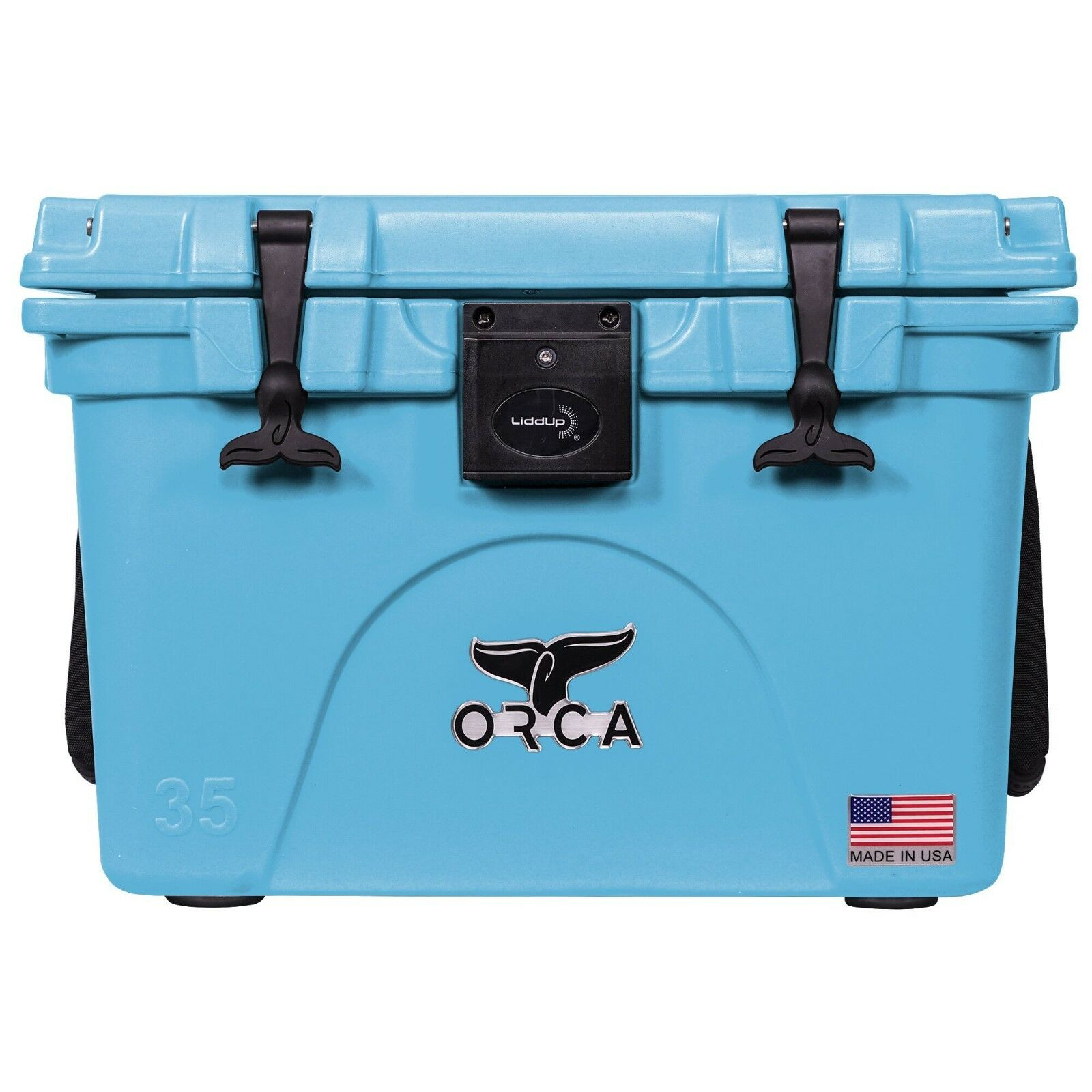 ORCA LIGHT blueE 35QT LIDDUP COOLER