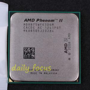 Free shipping AMD Phenom II X3 B75 Socket AM3 CPU Processor HDXB75WFK3DGM