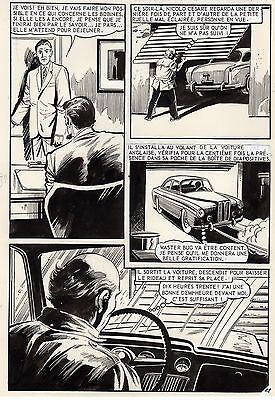 """carte Blanche Pour Oss 117"" (huescar ?) Planche Aredit Page 112"