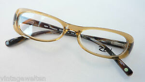 LiebenswüRdig Brillen Damenfassung In Naturtönen Mit Federbügel Extra Schmale Form Grösse M Dinge FüR Die Menschen Bequem Machen Sonnenbrillen Brillenfassungen
