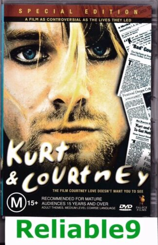 1 of 1 - Kurt & Courtney Special edition DVD + Special features-2004 20th Century Fox AUS