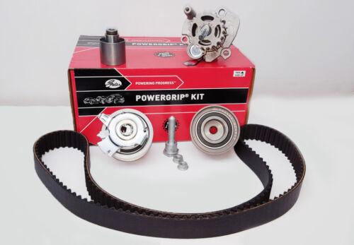 VW Group 2.0 TDI 16v Engines GATES KP25607XS-1 Timing Belt Kit /& Water Pump