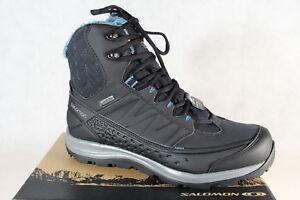 086236010e59 Salomon Kaina mid GTX Boots 404735 Boots Black Waterproof Gore-Tex ...
