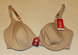 Berlei-Remembra-Ladies-Natural-Nude-Coloured-Bra-Size-10D-New