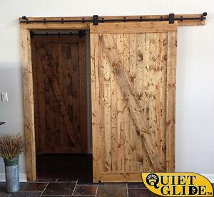 Image Is Loading Quiet Glide Premium Round Rail Rolling Barn Door
