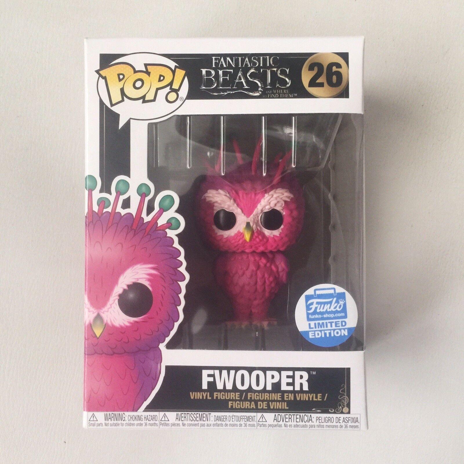Fwooper Funko Pop Vinilo  26 fantástico Besteias Exclusivo