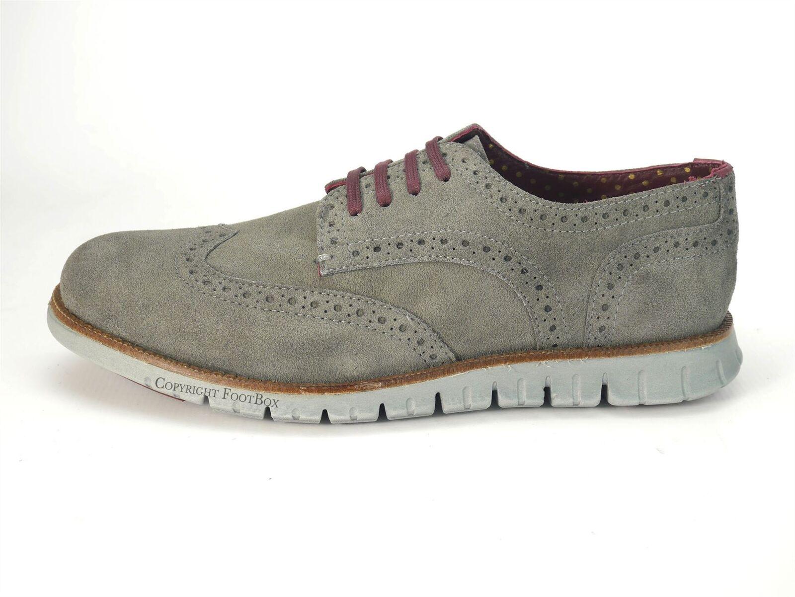 Chaussures Gatz Homme Daim Chaussures décontractées Derby Léger Léger Léger Chaussures Gris | Beau  | Moins Cher  480f28