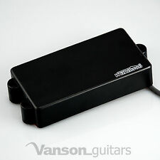 NEW Wilkinson MWM4 C Bass Pickup for MM type bass guitars, Black Humbucker MWM4C