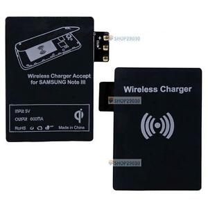 Qi-Wireless-Charger-Receiver-Card-Black-for-Samsung-Galaxy-Note3-III-N9000-E-BF