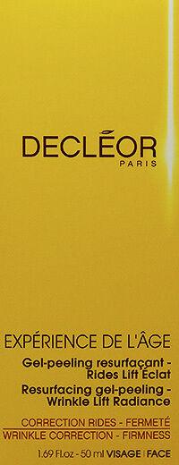 Decleor Experience De L'age Resurfacing Gel Peeling 50ml(1.69oz)Wrinkles Correct