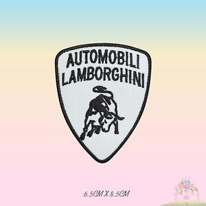 Lamborghini-Car-Brand-Logo-Embroidered-Iron-On-Patch-Sew-On-Badge-Applique