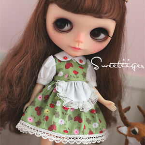 Tii-berry-dress-outfit-12-034-1-6-doll-Blythe-Pullip-azone-Clothes-Handmade-girl