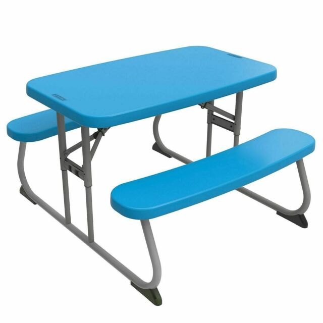 Awe Inspiring Lifetime Childrens Picnic Table Blue Onthecornerstone Fun Painted Chair Ideas Images Onthecornerstoneorg