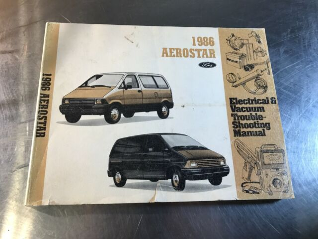 1986 Ford Aerostar Electrical  U0026 Vacuum Troubleshooting