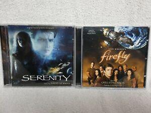Firefly And Serenity CD Soundtracks Rare