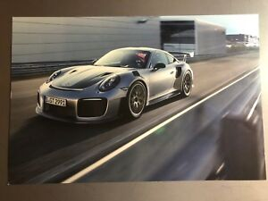 2018-Porsche-911-GT2-RS-Coupe-Showroom-Advertising-Poster-RARE-Awesome-L-K
