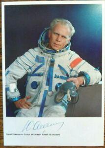 Soyuz 14 Yuri Artyukhin original signed photo, Space, Juri Artjuchin, Sojus