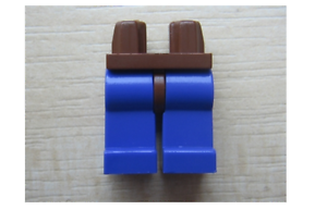 LEGO Brown Hips and Violet Legs