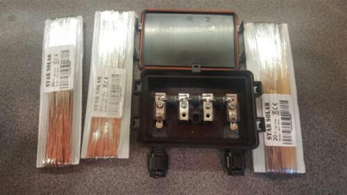 Solar Cells Tab Bus Bar Wire 20m 66ft 1.80mmx0.16mm PV Ribbon DIY Connect Strip